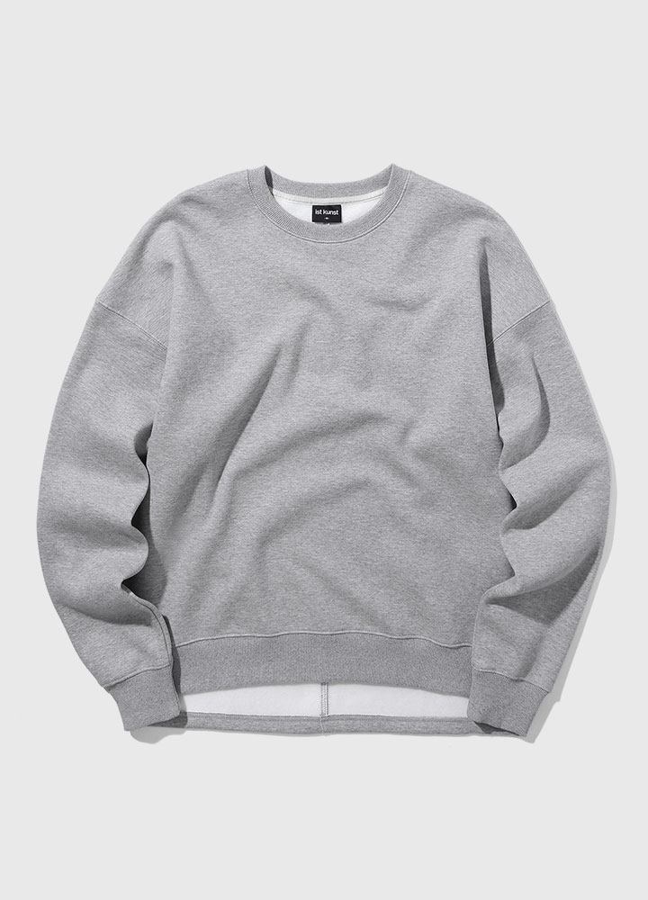 VENT OVERSIZED SWEATSHIRT[GREY]