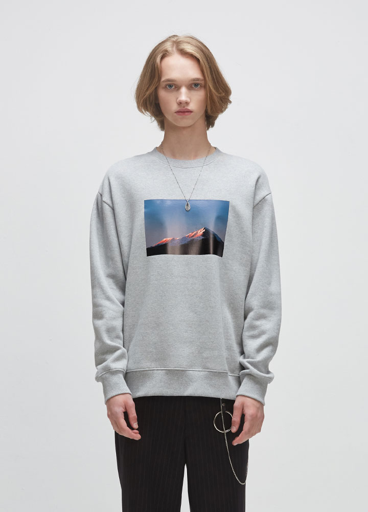 SUNRISE SWEATSHIRT[GREY]
