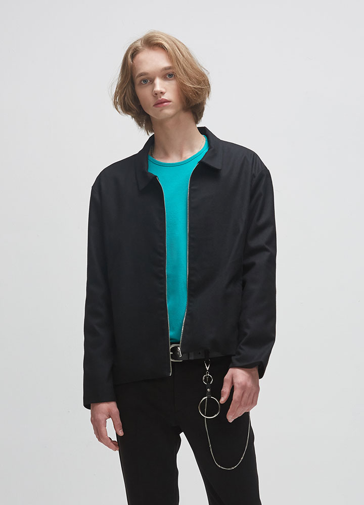 NEW MINIMAL JACKET[BLACK]