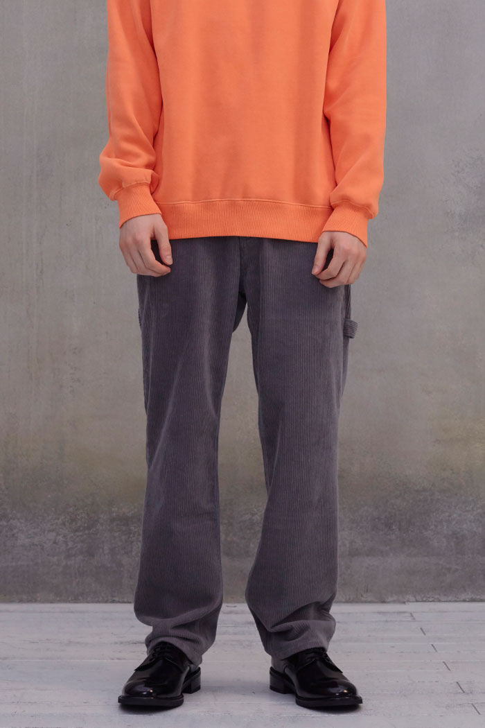 CORDUROY PAINTER PANTS[GREY]