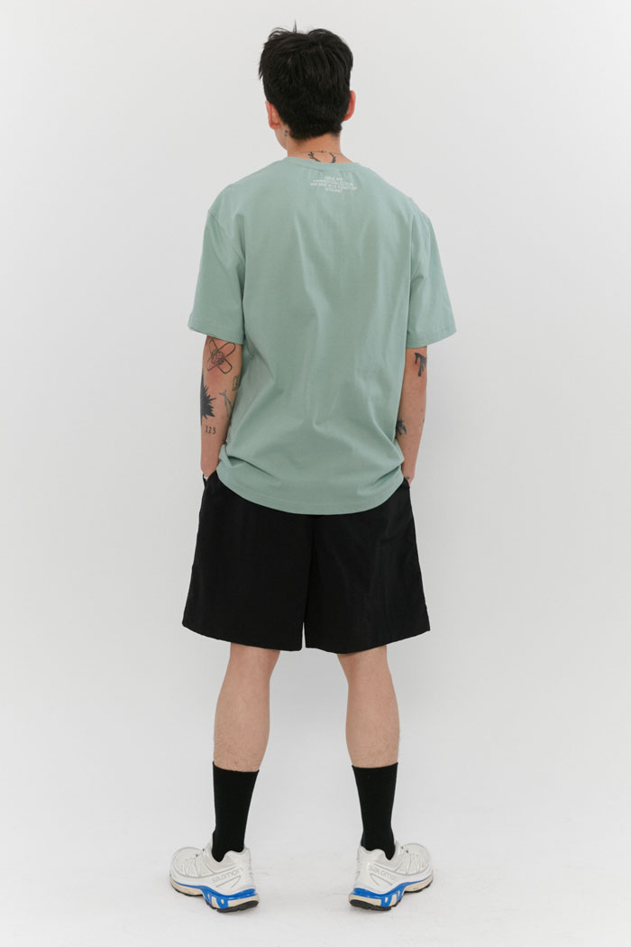 OVAL LOGO TEE[MINT]