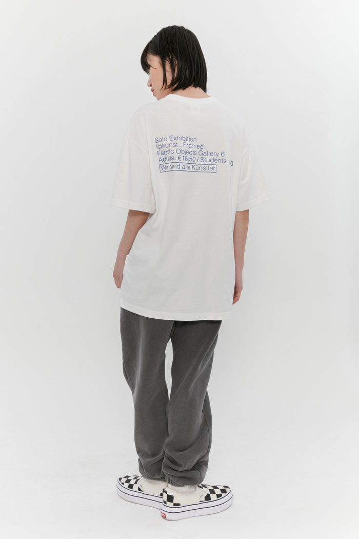 EXHIBITION TEE[WHITE]
