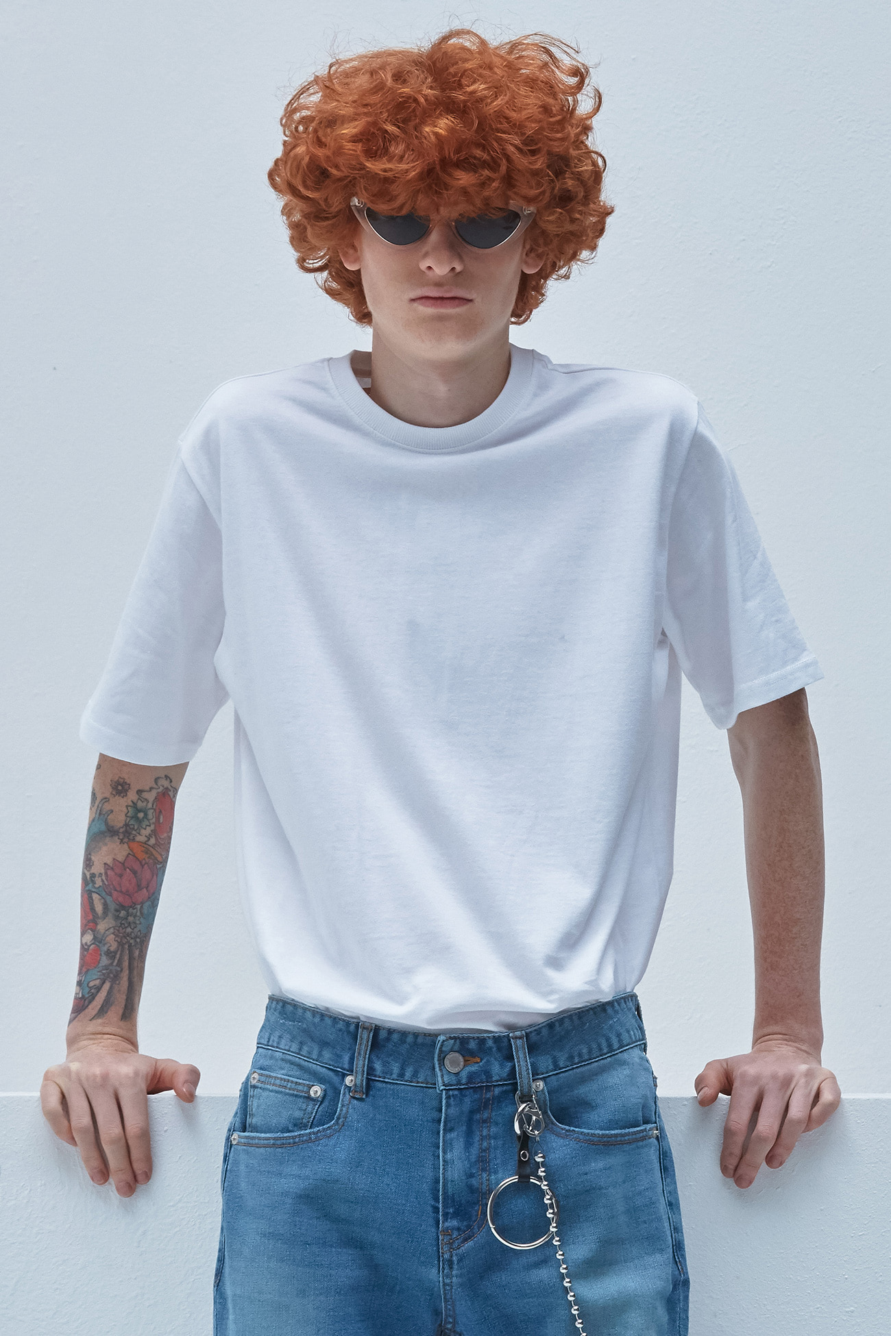 REGULAR FIT TSHIRT[WHITE]
