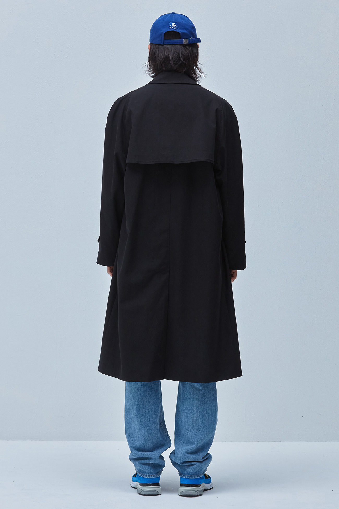 OVER FIT BALMACAAN COAT[BLACK]