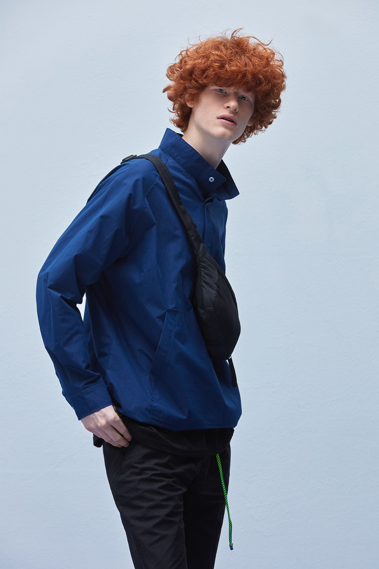 ANORAK SHIRTS[BLUE]