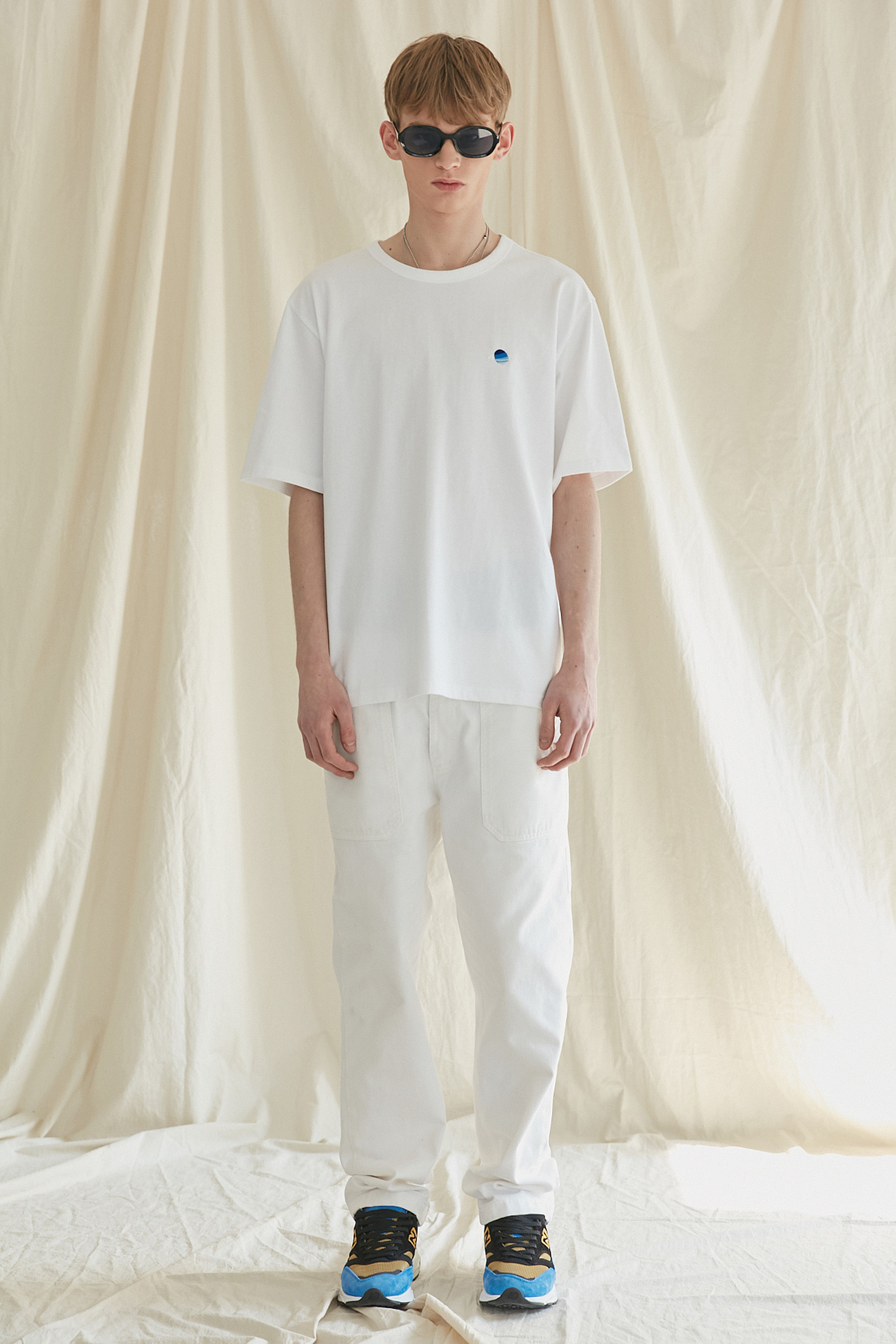 SATURN TSHIRT[WHITE]