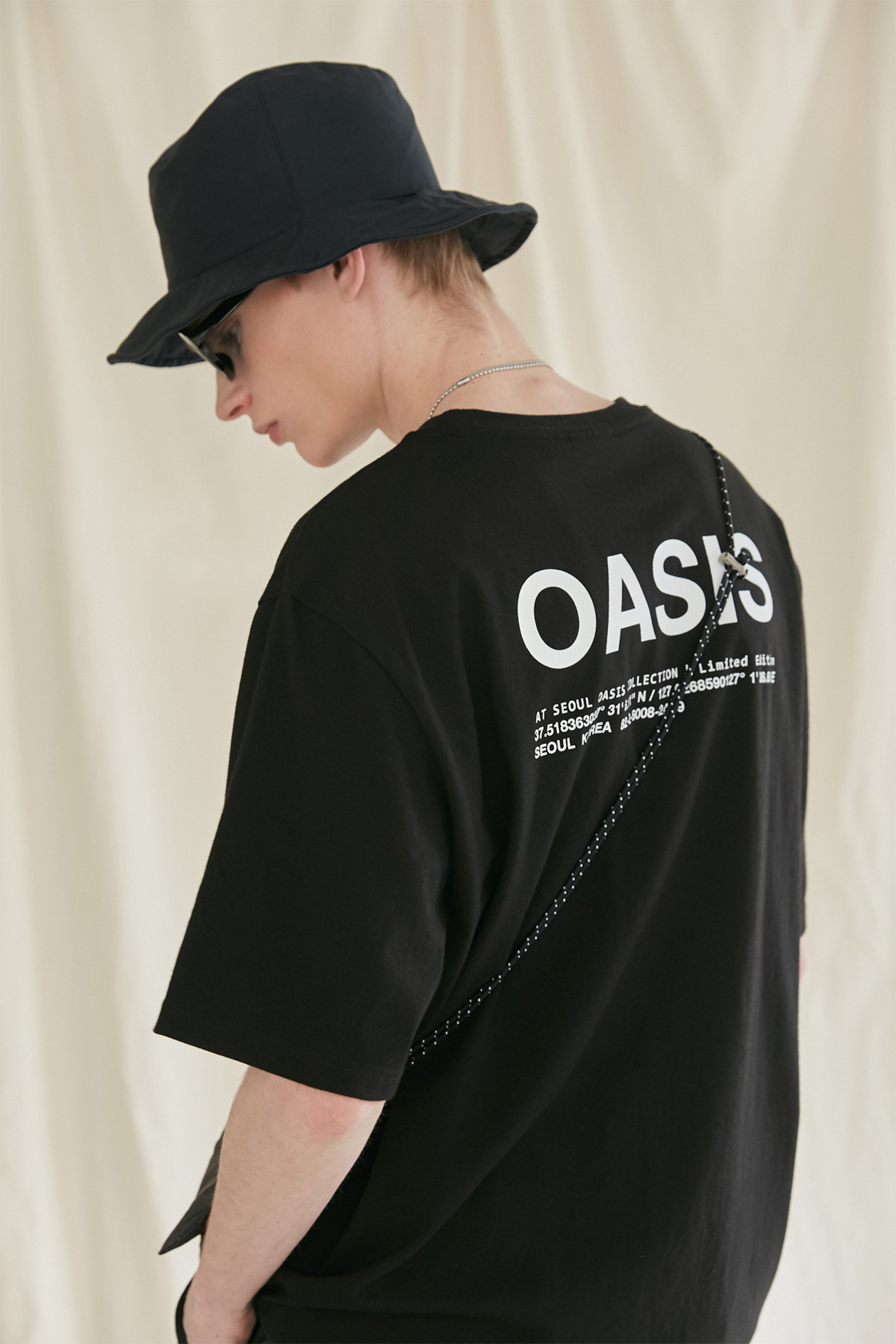 INFORMATION TSHIRT[BLACK]