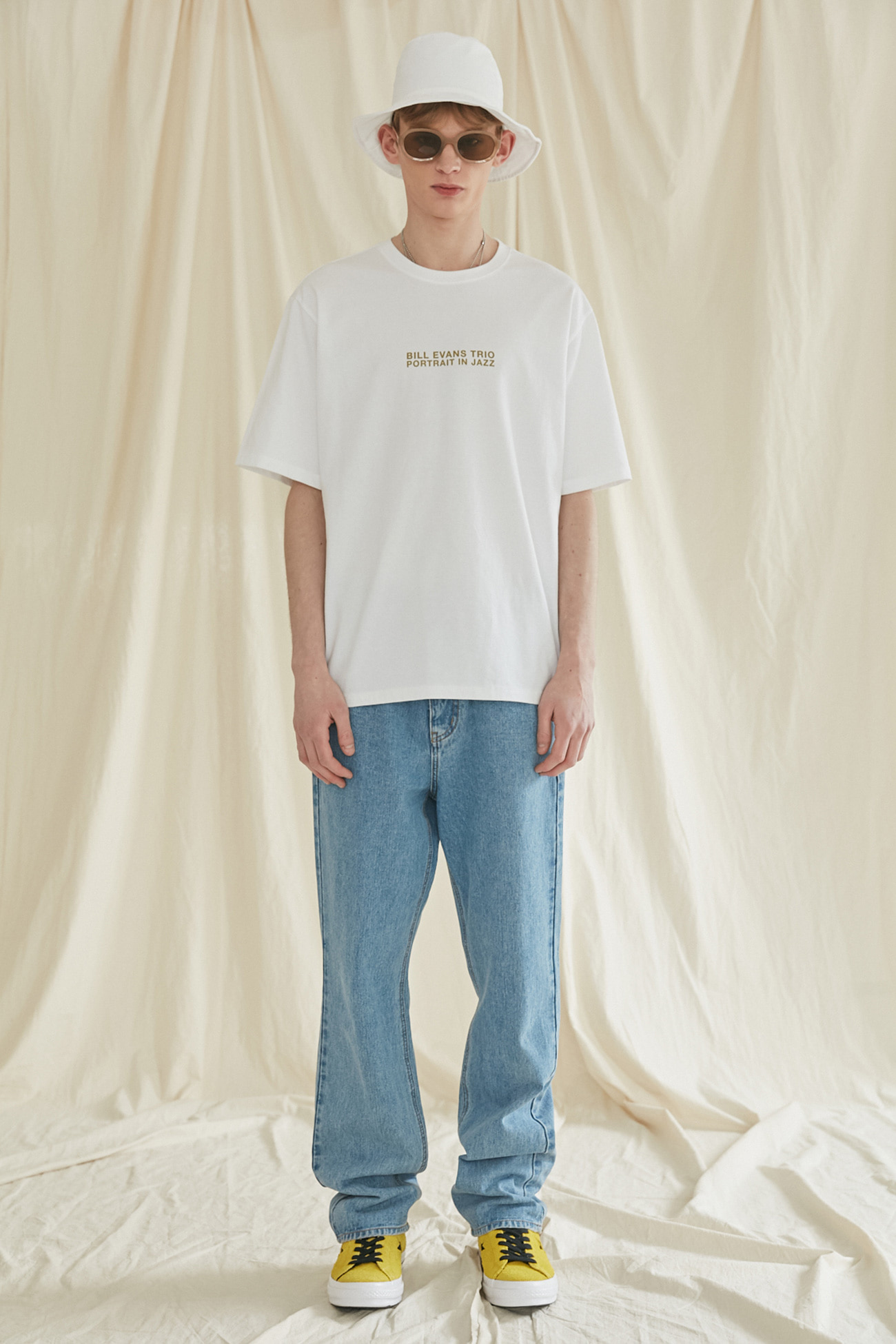 RIVERSIDE TSHIRT[WHITE]