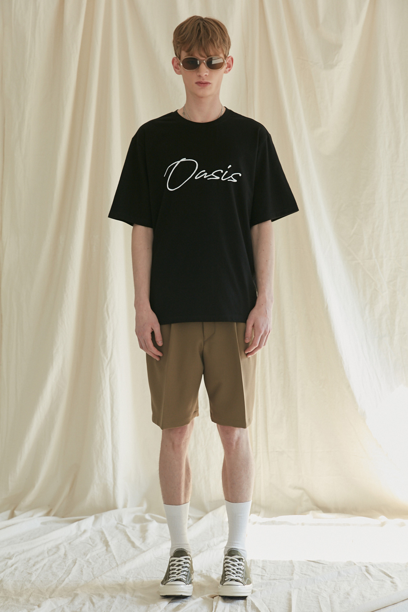 CALLIGRAPHY TSHIRT[BLACK]