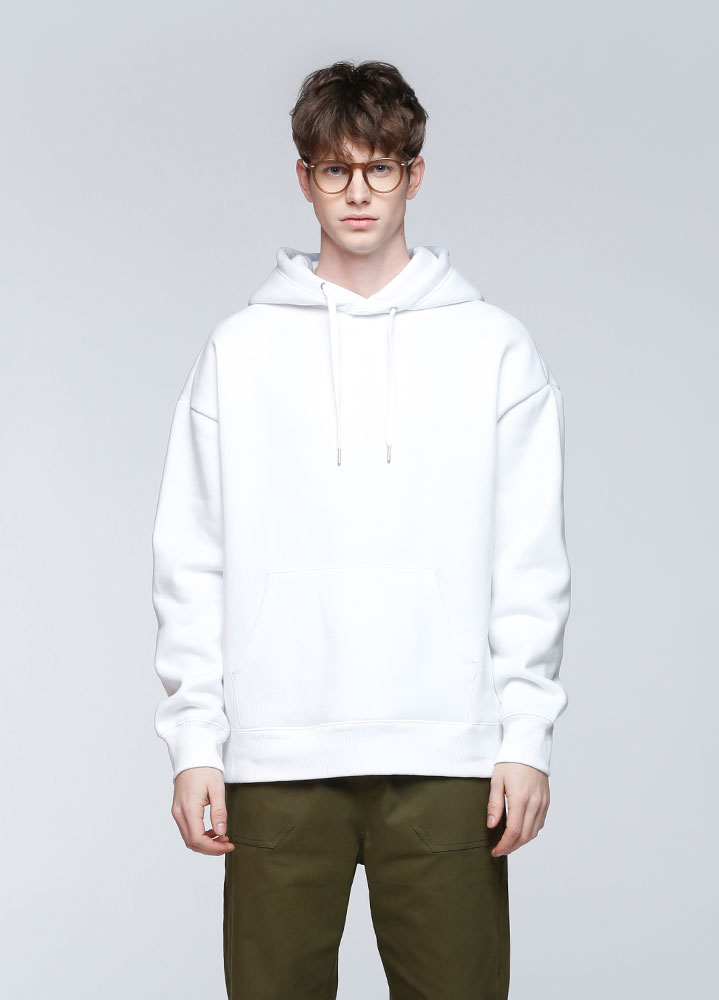 JACE OVERSIZED PULLOVER HOODIE[WHITE]