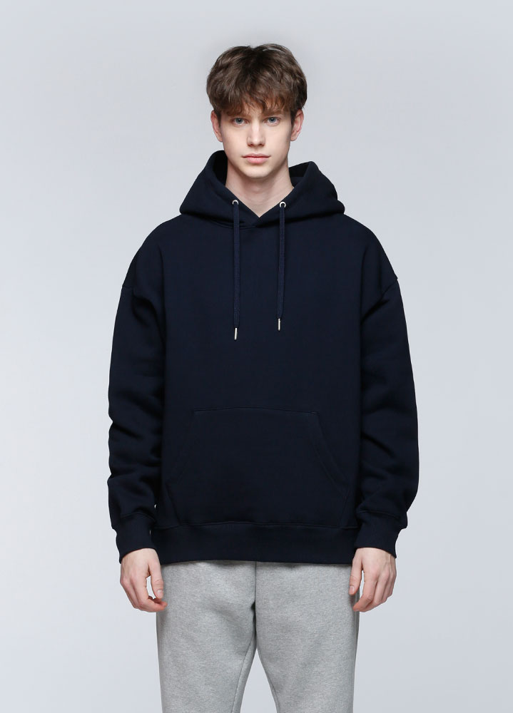 JACE OVERSIZED PULLOVER HOODIE[NAVY]