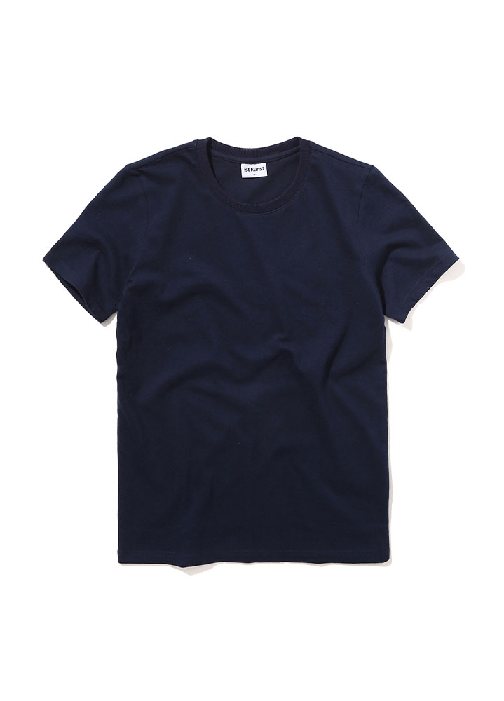 [STANDRAD]MUSCLE FIT TSHIRT[NAVY]