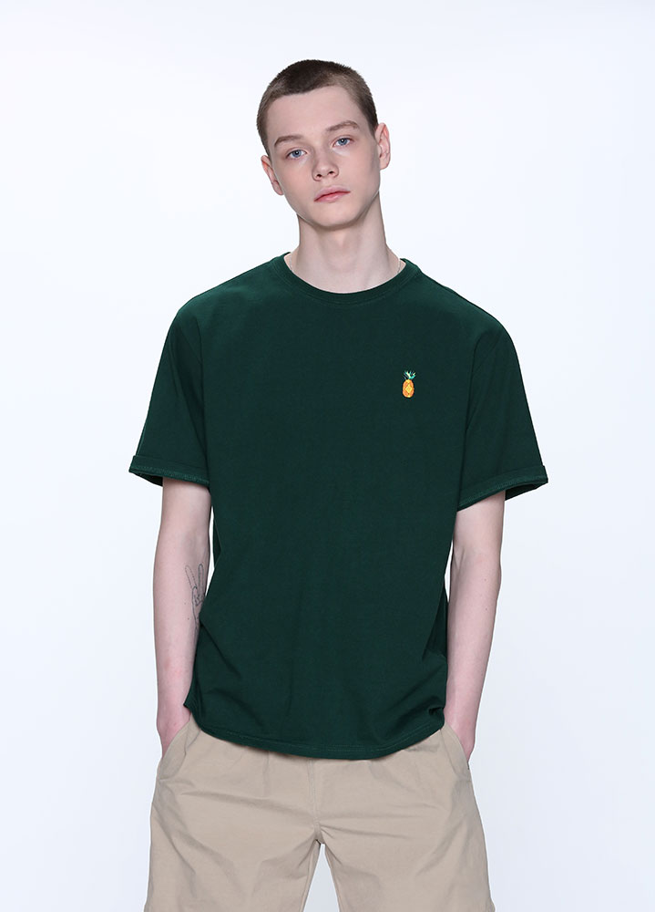 VACATION TSHIRT[DEEP GREEN]