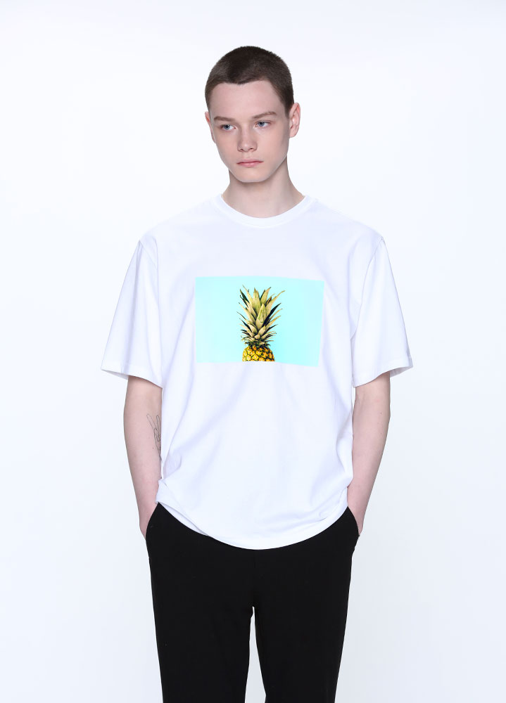 PINEAPPLE TSHIRT[WHITE]