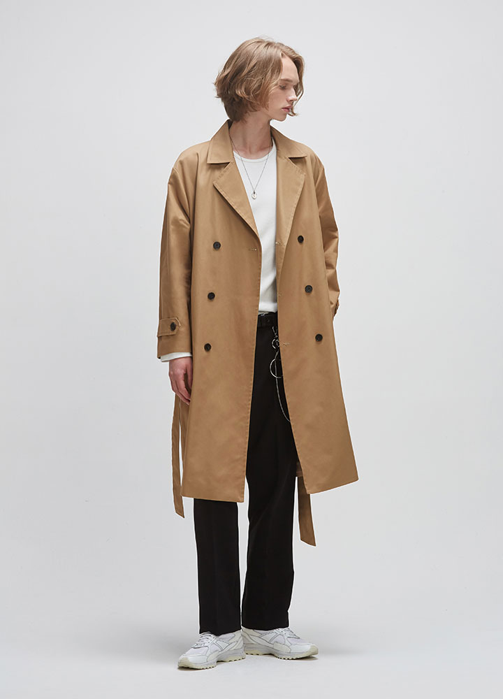 TRENCH COAT[BEIGE]