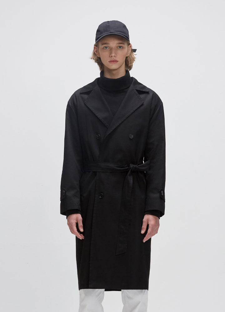 TRENCH COAT[BLACK]