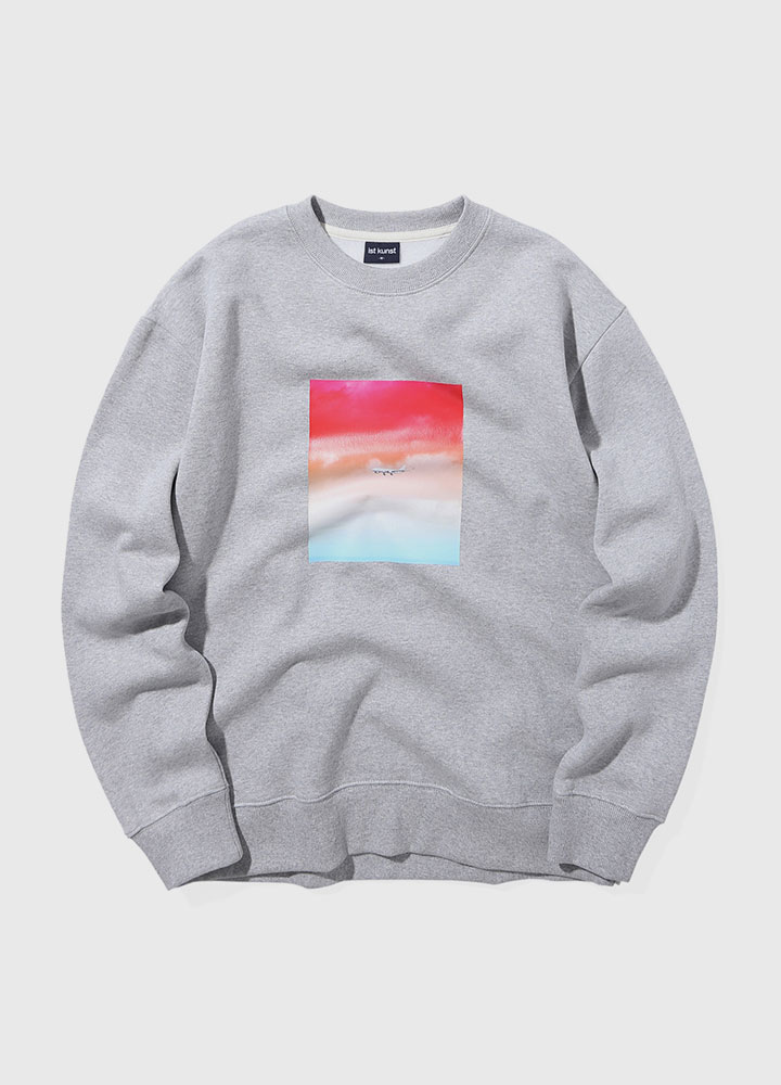 FLIGHT SWEATSHIRT[GREY]