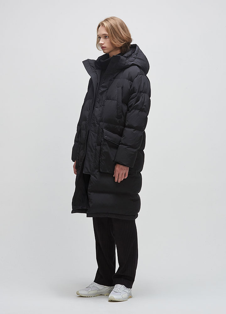 BIG BENCH LONG DOWN PARKA[BLACK]