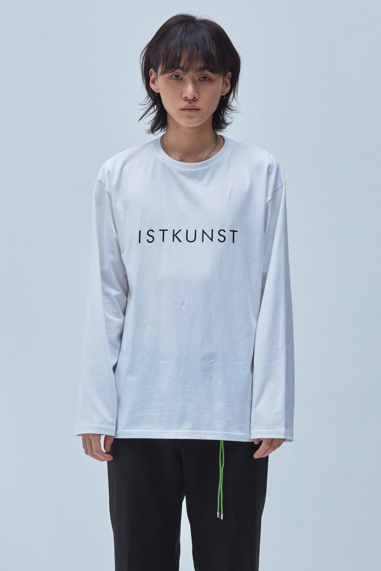 LOGO LONG SLEEVE TSHIRT[WHITE]
