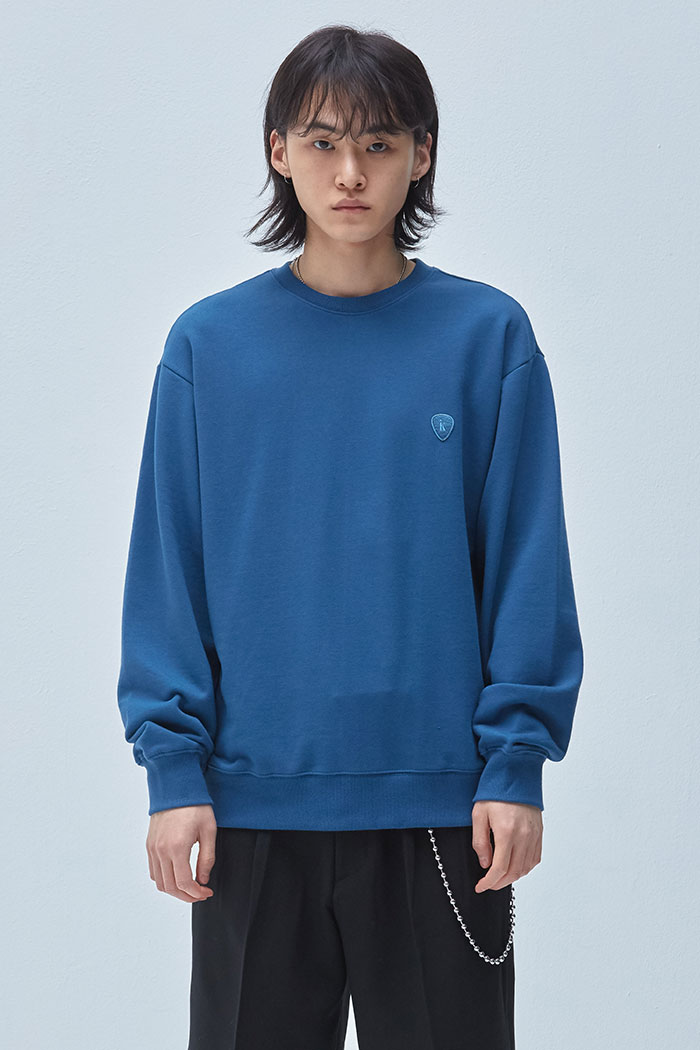 PICK WAPPEN SWEATSHIRT[BLUE]