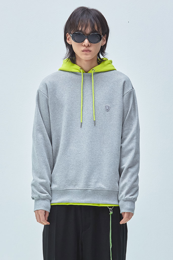 PICK WAPPEN SWEATSHIRT[GREY]