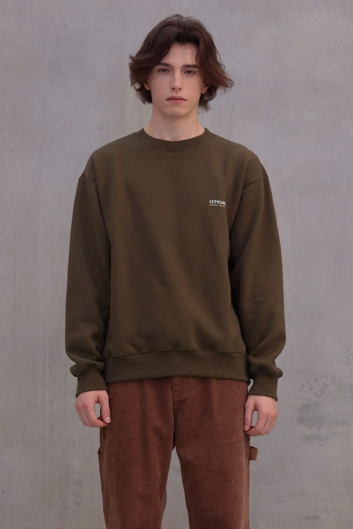 EXHIBITION SWEATSHIRT[KHAKI]