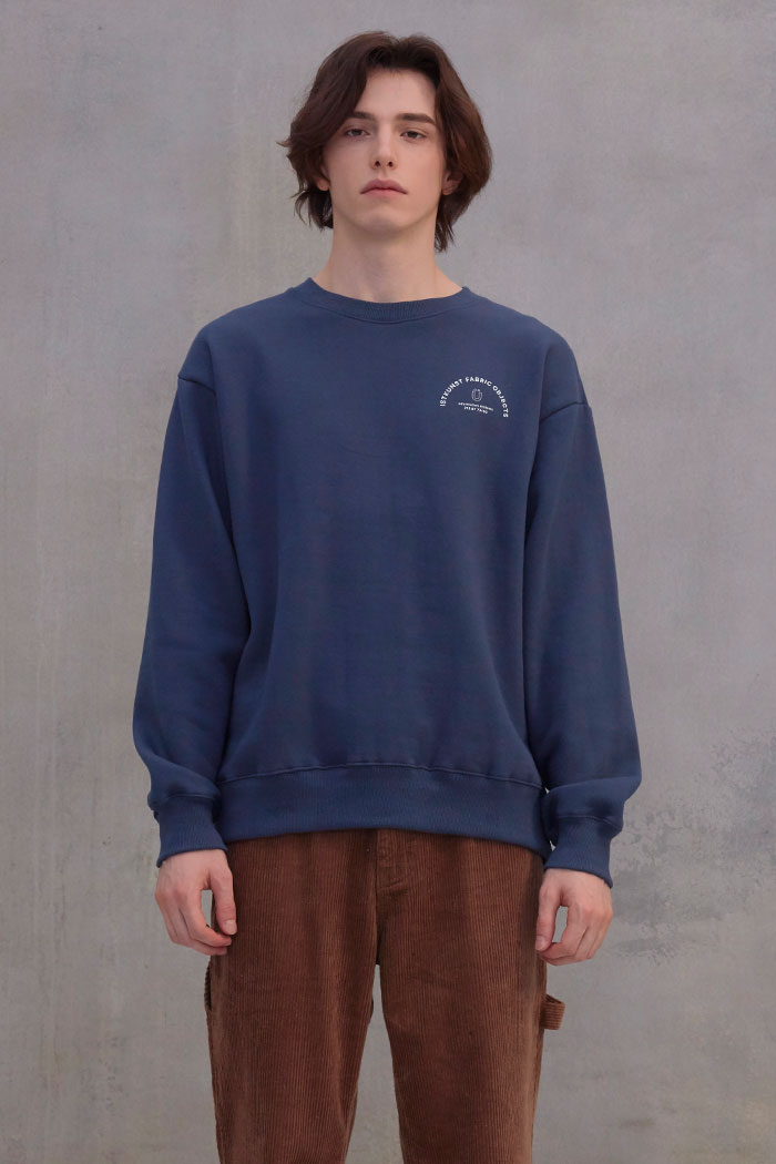 INFORMATION SWEATSHIRT[BLUE]