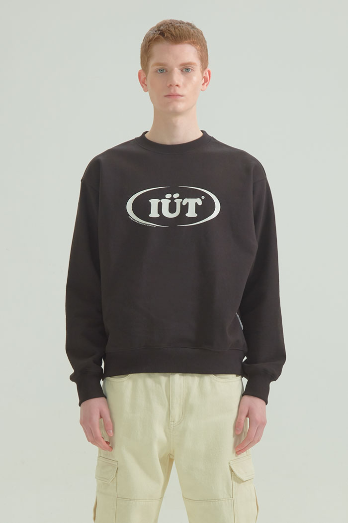 OVAL LOGO SWEATSHIRTS[BLACK]