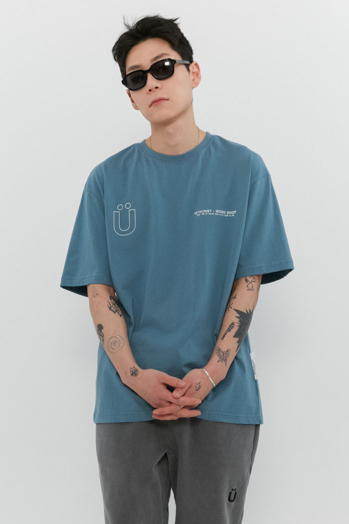 WORKSHOP TEE[BLUE]