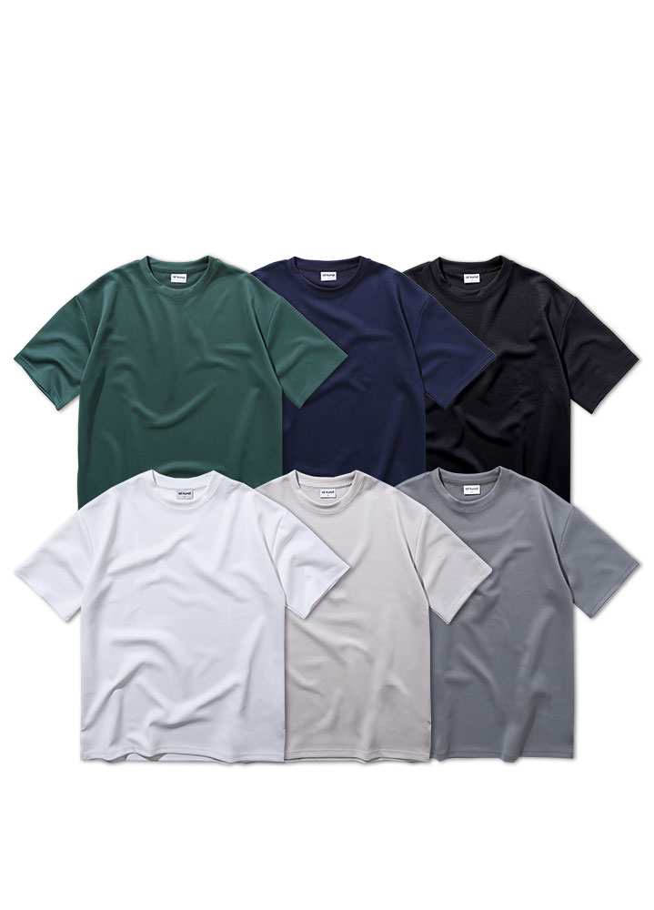 [ STANDARD 1+1 ]HEAVY COOLON OVERSIZED TSHIRT[6 COLOR]